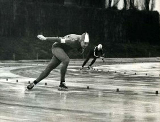 Hasse Börjes, svensk skridskosprinter i världsklass, tog silver vid OS i Sapporo 1972 på 500 m - då var han även världsrekordhållare på distansen