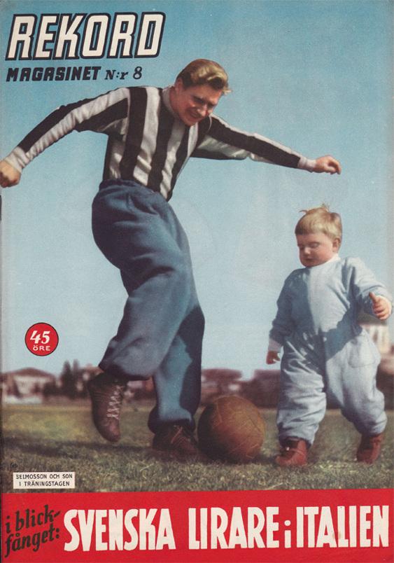 Bonusbild: Arne Selmosson, italienproffs och med i VM-truppen 1958