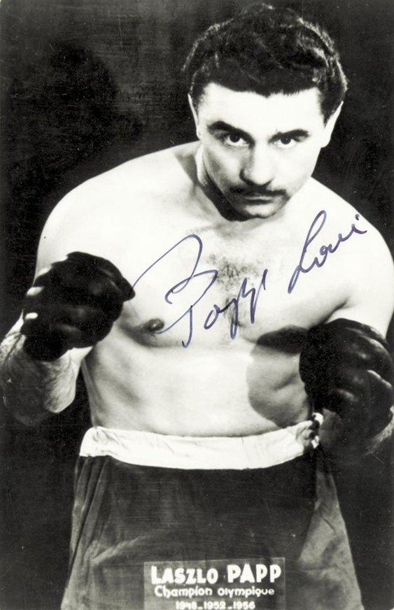 Ungraren Laszlo Papp, legendarisk boxare med tre raka OS-guld