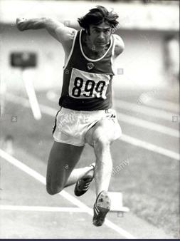 Viktor Saneyev, georgier som tävlade för Sovjetunionen, vann trestegsfinalen vid tre OS; 1968 i Mexico, 1972 i Munchen och 1976 i Montreal.
