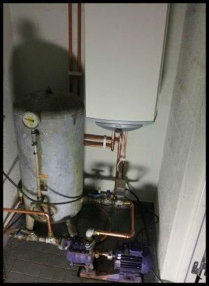 Byte av varmvattenberedare