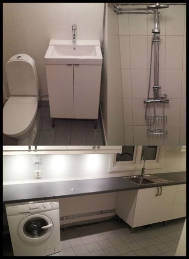 Renovering av toalett, dusch och tvättstuga