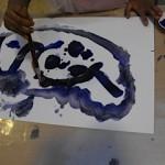 Blå skapelse