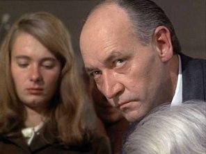 Tina Hedström och Per-Axel Arosenius i filmen Topaz. Ett par år senare var båda döda.