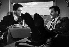 Främlingar på tåg var en av Hitchcock lyckade tidiga filmer under 50-talet
