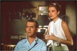 James Stewart och Grace Kelly i Fönstret åt gården