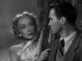 Marlene Dietrich och Richard Todd ur Rampfeber