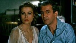 Grace Kelly och James Stewart ur Fönstret åt gården