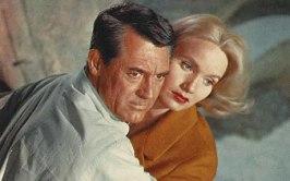 Cary Grant och Eva Marie Saint ur I sista minuten