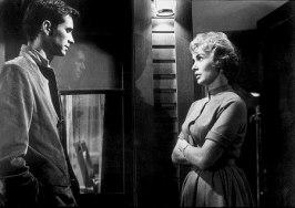 Anthony perkins och Janet Leigh ur Psycho