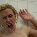 Scarlett Johanson i den berömda duschscenen
