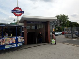 Laytonstone Station i norra London