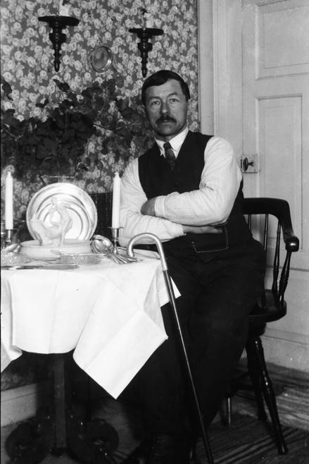 Min morfar Bernhard (självporträtt)