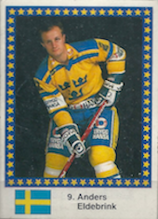 1993 Swedish Semic World Championships Stickers #20 Anders Eldebrink