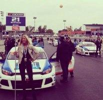 Värdinna, eventpersonal, stcc, bilrace, grid girl.