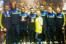 Eventpersonal, värdinna, Adidas, fotbollslandslaget.