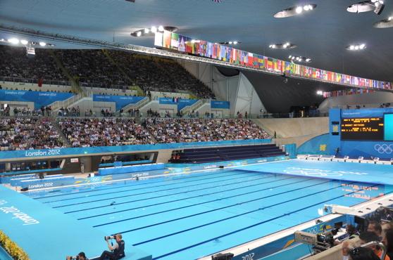 I London Aquatic center finns det åtta olika installationer från Variopool. Kanske företagets finaste referensanläggning någonsin.