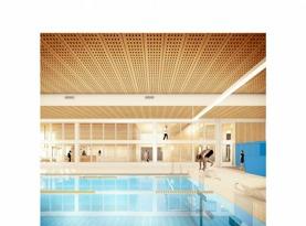 Vy inifrån projektet Almere som kommer att byggas i flera våningar