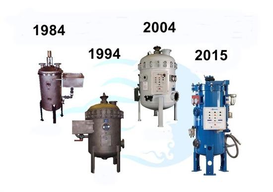 Defender filtret har funnits på marknaden sedan 1984. Det blå filtret till höger på bilden är Defender 4.0 - som kom i fjol. Finns i sex olika storlekar