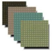 Treadmaster. En matta som skall hel-limmas mot underlaget och som finns i flera olika färger. Mattan är 3 mm eller 6 mm tjock och är en blandning gummi och kork. Mattan är behaglig att gå på - väl beprövad i simhoppsammanhang.