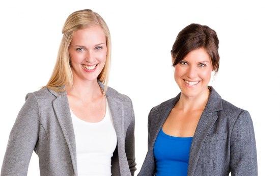Lisa Flink och Camilla Oldberg  Foto: Fröken Fokus