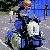 Cobra - Euroflex: An electrical wheelchair developed together with children to catch their needs of freedom, cool design and adjustable positions.