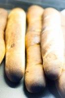 Brända baguetter
