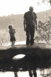 Isabelle och morfar