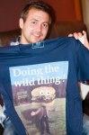 Snygg t-shirt.