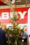 Julen hade redan kommit till Jönköping, iallafall hos Cabby.