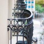 Balkonger på vårat hotell.