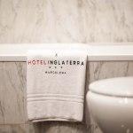 Vårat hotell Inglaterra, låg centralt och bra.