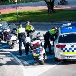 Poliser i morgonmöte?!