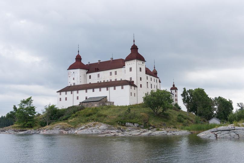 Läckö slott bakifrån