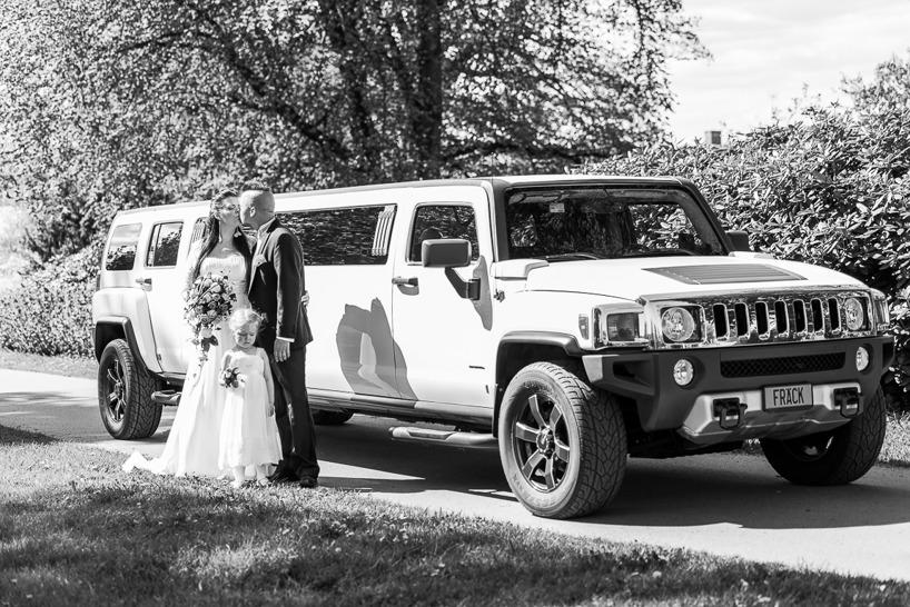 Bröllopsfotografering Hummer