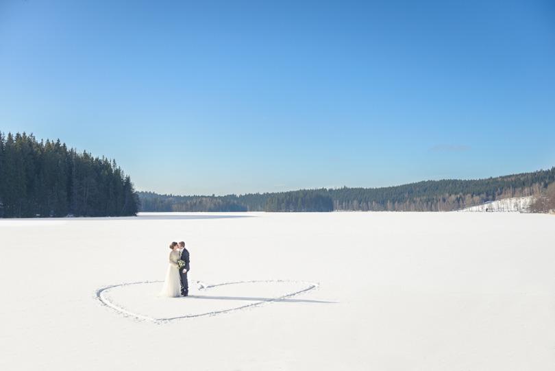 Bröllopsfotograf Smultronstina Nässjö Forserum Jönköping Småland Vinterbröllop