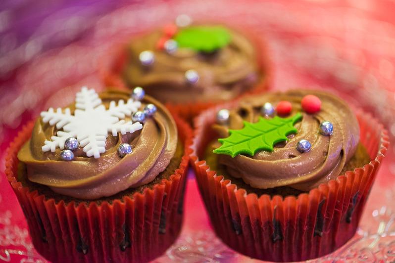 Juliga cupkakes från Lindas Tårtor