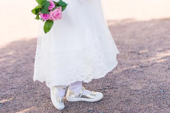 Brudnäbb skor bukett