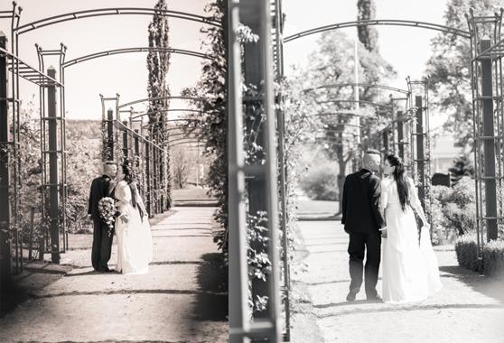 Bröllopsfotografering Rosariet