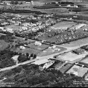Flygfoto över Haverdalsbyn.