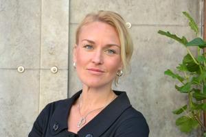Olga Persson, generalsekreterare för Unizon, om situationen för landets tjej- och kvinnojourer. Foto: Pressbild.