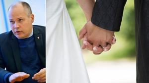 Justitieministern Morgan Johansson (S) vill se skärpt lagstiftning om äktenskapstvång. Foto: TT