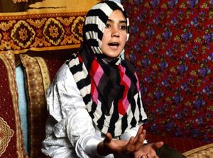 14-åriga Aziza Rahimzada brinner för att hjälpa barnen i sitt hemland Afghanistan att få gå i skolan. Hon har redan haft ett stort inflytande och i dag kan hon belönas med Barnens internationella fred