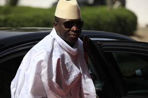 Gambias president Yahya Jammeh.