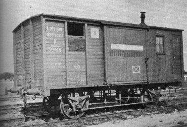 Postal wagon No.1