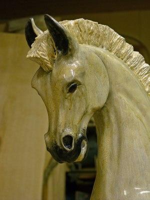 En av de Viktorianska Gunghästar vi kommer att ställa ut på Blommeröds Horse Show 7-8 juli 2012
