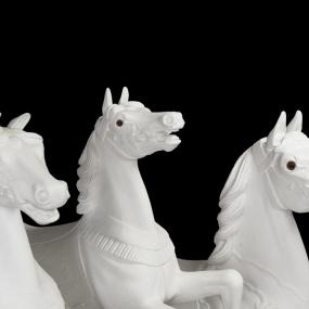 3 karusellhästar färdiga
