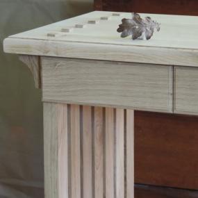 Lite bord - Axtorna ek - speciell beställning