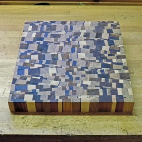 Skärbreda - kaotiskt mönster ca 40cm x 30cm