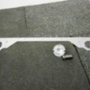 Metall ramp för Max/W&B kärror